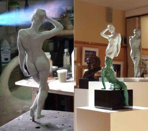 Copyright: Andrew Freidin (Bronze sculpture)