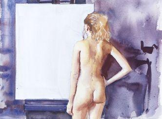 © Robbie Wraith (Blank Canvas, Watercolour)